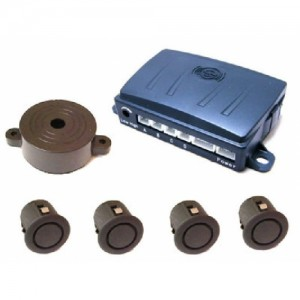 Aura Park Safe Reversing Sensor 4pcs with Buzzer Fitted Instore