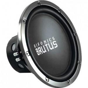 "Hifonics BRZ12D4 - 12"" Dual 4 ohm Brutus Series Subwoofer"