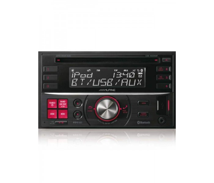 Alpine CDE-W235BT CD/MP3 Double din with Bluetooth