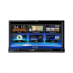 "Clarion NX702E 7"" Double Din Navigation System"