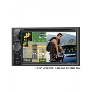 "Clarion NX501E 6.2"" Double Din Navigation System"