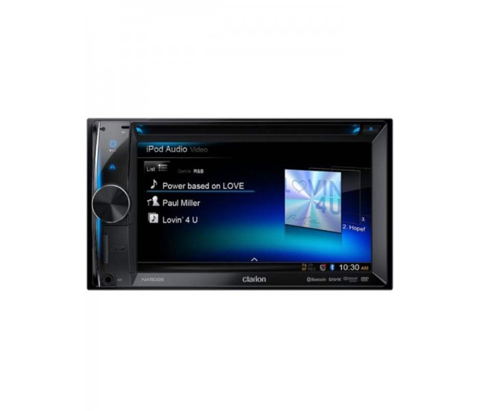 "Clarion NX502DAB 6.2"" Double Din Navigation System"
