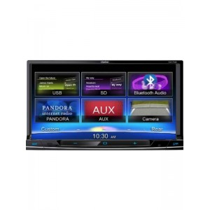 "Clarion NX702DAB 6.2"" Double Din Navigation System"