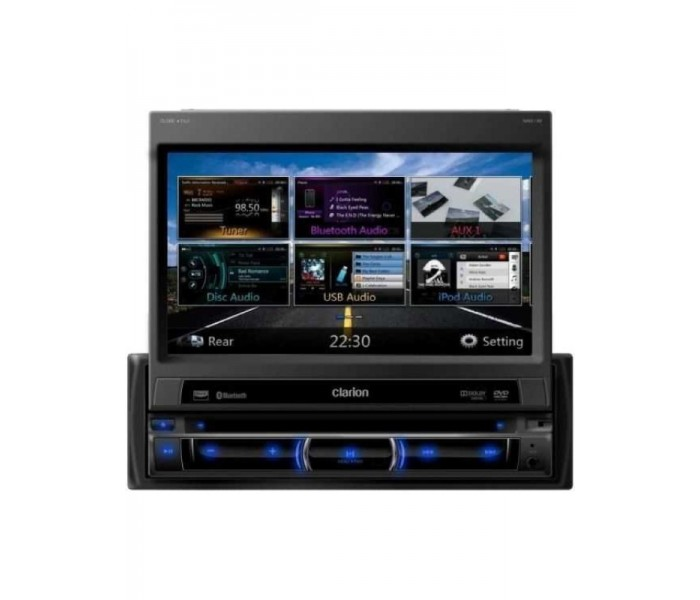 "Clarion NZ502E  7"" Motorized Navigation System"