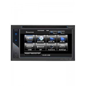 "Clarion VX401E 6.2"" Double Din Multimedia Station"