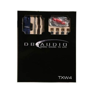 DB Audio TXW4 High Quality 4 Gauge Wiring Kit