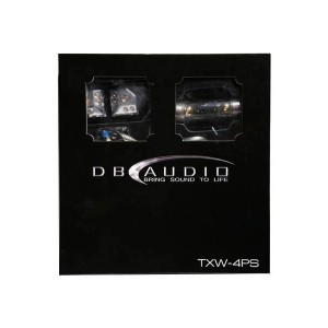 DB Audio TXW4PS High Quality Dual Amp Wiring Kit