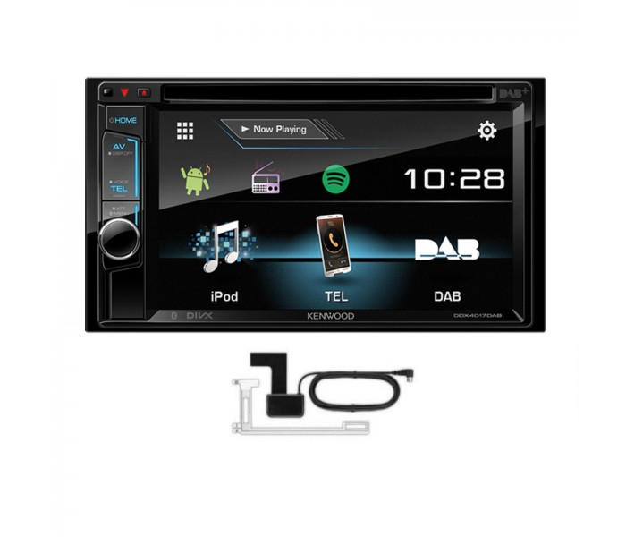 Kenwood DDX4017DAB CD DVD Bluetooth Car Stereo DAB