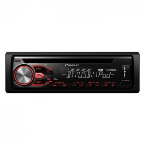 Pioneer DEH-4800BT- Bluetooth car stereo with USB, Aux-In & iPod/iPhone & Android Direct Control