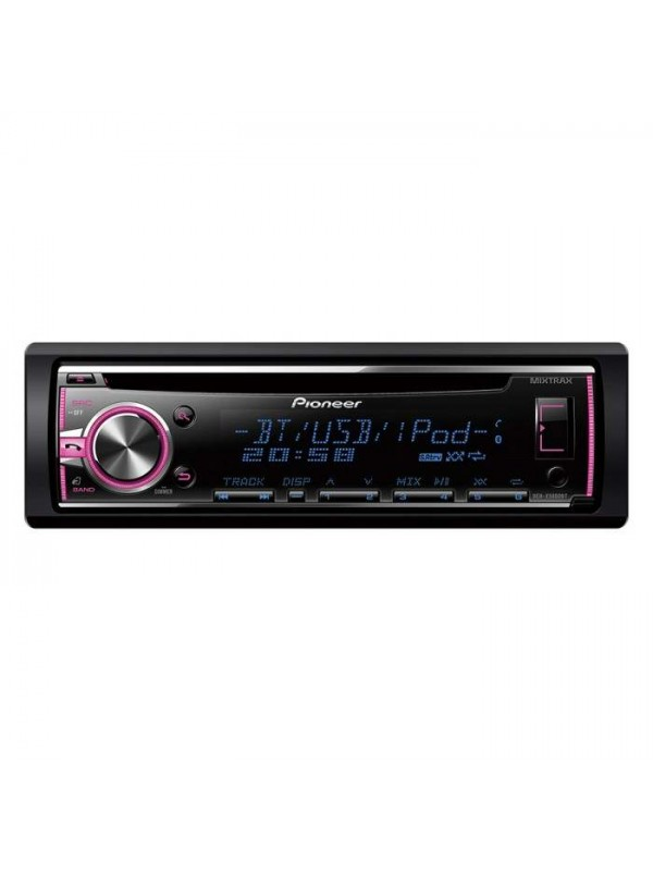 pioneer deh x5800bt cd bluetooth usb and aux in stereo with ipod iphone android direct control. Black Bedroom Furniture Sets. Home Design Ideas