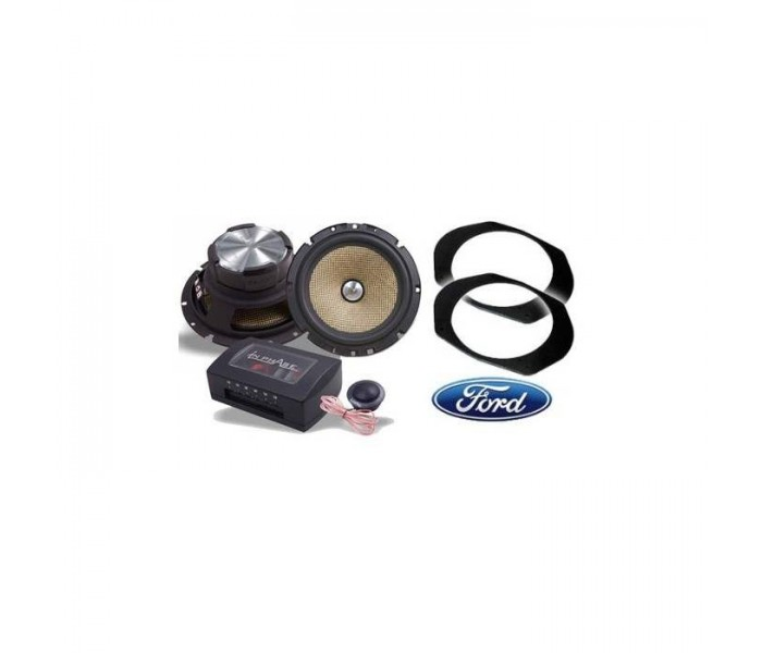 Ford Focus In Phase XTC6CX Speaker Upgrade Package