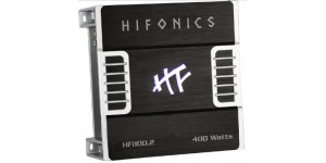 Hifonics HFi100.2 - 400W RMS, 2-Channel HFi Series Amplifier