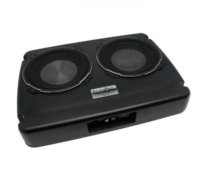 In Phase USW12 600W Dual Underseat Active Subwoofer System