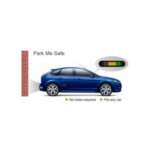 In Phase ReverseSafe Parking AID system, Invisible Sensor and Distance Display