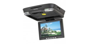 in phase ivm7dvd 7 headrest monitor built in dvd player in phase ivr11 11 roof mount dvd entertainment system
