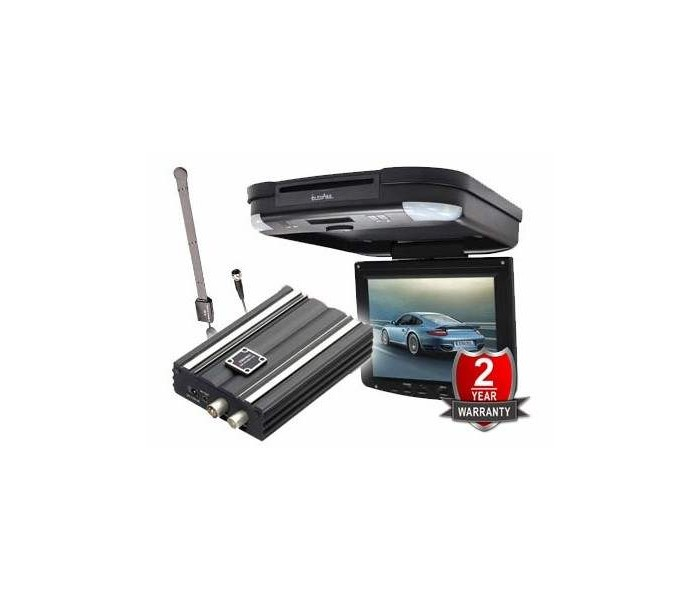 In Phase IVR11 + DVB100 Roof Monitor with In Phase Digital TV Tuner With Aerial