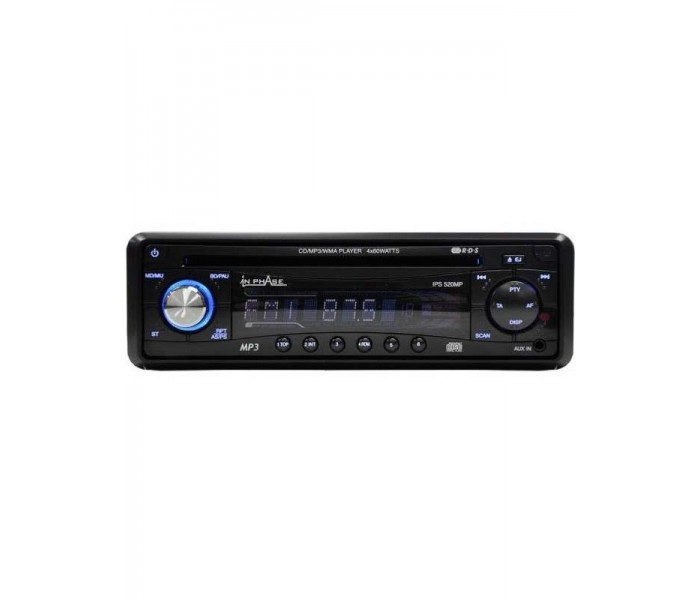 In Phase IPS520MP CD/MP3 Head unit