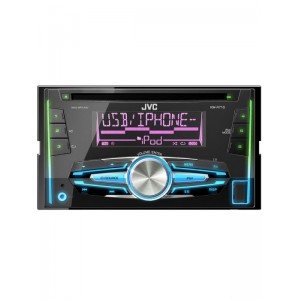 JVC KW-R710 CD/MP3 Double din Head unit