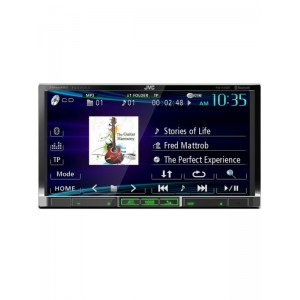 "JVC KW-V40BT  7"" Double Din Multimedia Station"