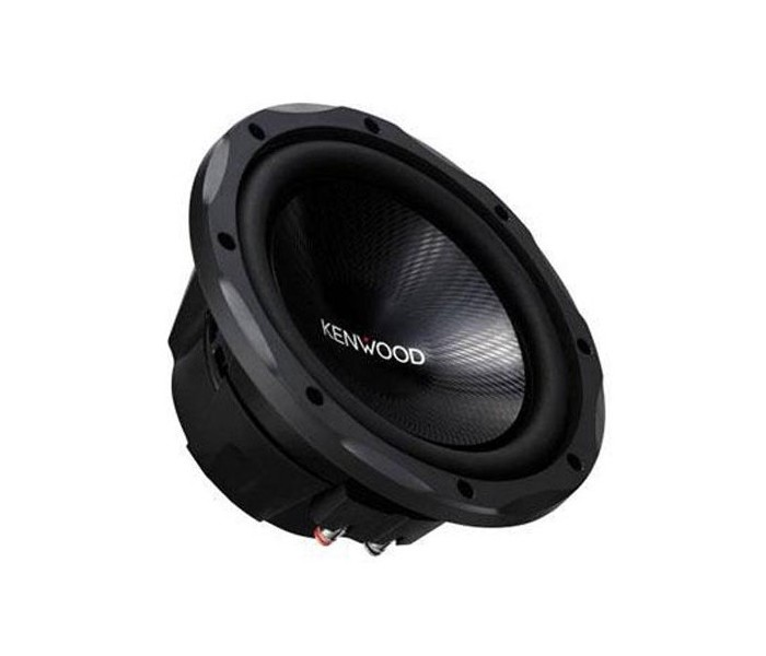 "Kenwood KFC-W2513 10"" subwoofer pack with Kenwood KAC-6203 Amplifier and enclosure"