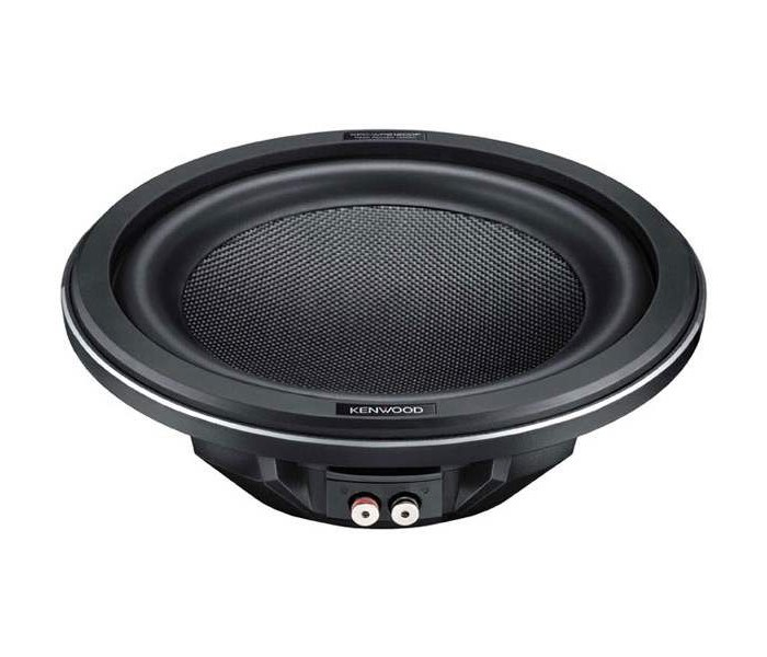 "Kenwood KFC-WPS1200F 1400W 12"" single 4Ω Shallow Subwoofer"