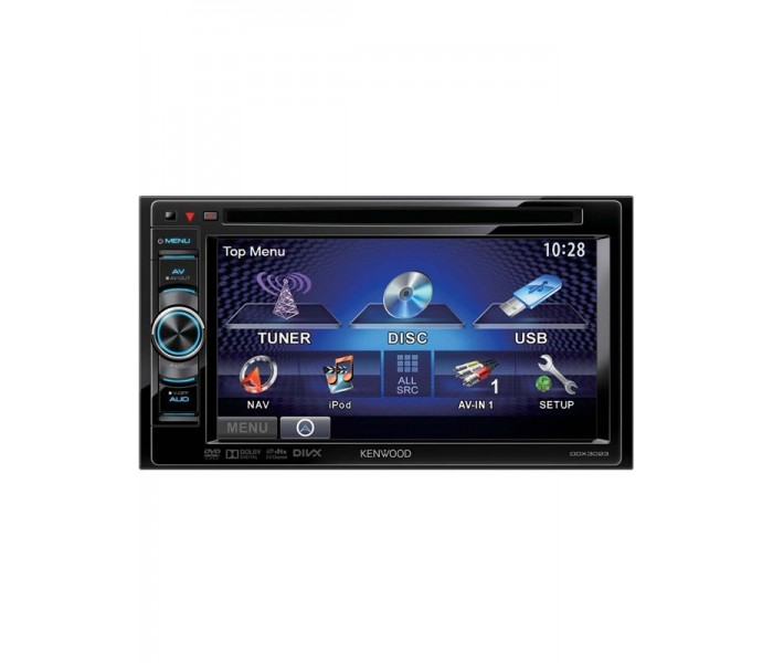 "Kenwood DDX-3023 6.1"" Double Din Multimedia Center"