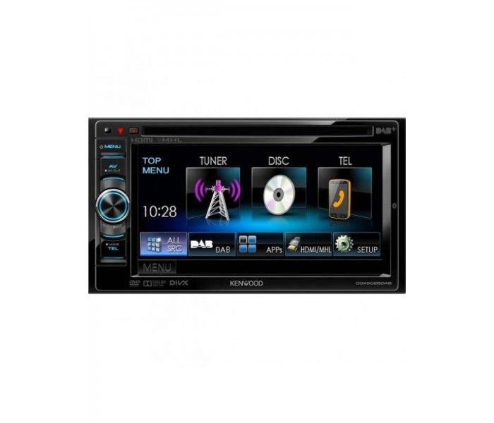 "Kenwood DDX-5025DAB 6.2"" Double Din Multimedia Center"