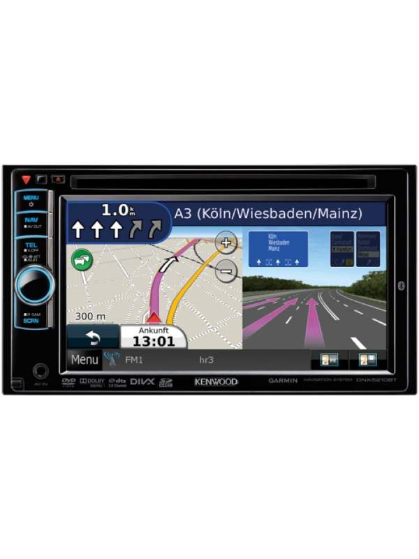 kenwood dnx 5210bt 6 1 double din navigation system. Black Bedroom Furniture Sets. Home Design Ideas
