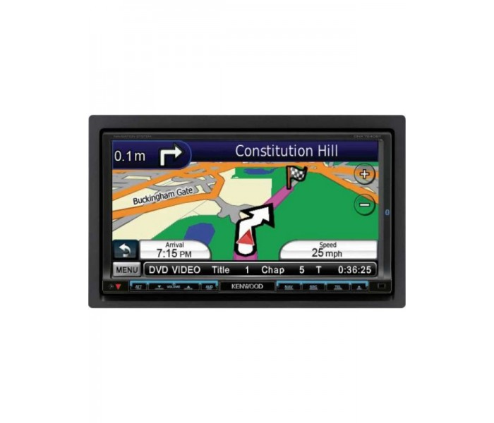 kenwood dnx 7240bt 7 double din navigation system. Black Bedroom Furniture Sets. Home Design Ideas