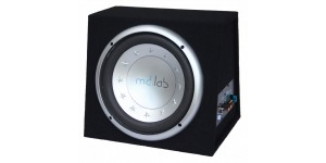 "MD LAB 12"" Subwoofer Bassbox  Built in AMP 1000w"