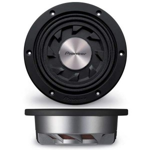 "Pioneer TS-SW841D 500W 8"" single 4Ω VC Shallow Subwoofer"