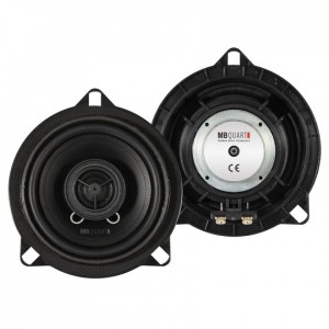 MB Quart QM100 BMW - Custom Fit 10cm 2-Way Coaxial Car Speakers for BMW 1, 3 5 Series, X1