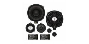 "MB Quart QM200.3 BMW - 20cm 8"" 3-Way Custom Fit Component Speakers for BMW X1 E84"