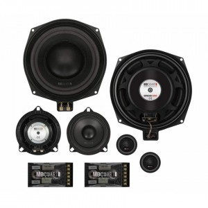 "MB Quart QM200.3 BMW - 20cm 8"" 3-Way Custom Fit Component Speakers for BMW X1 E84"