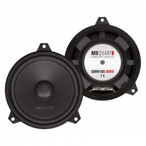 MB Quart QMW165 BMW - Custom Fit 16.5cm Bass Speakers for BMW 3 Series E46