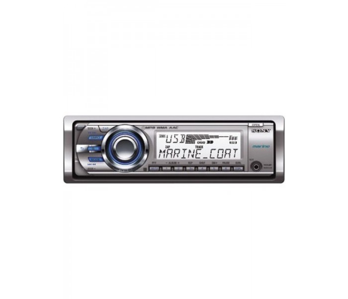 Sony CDX MR60UI Marine CD/MP3 Head unit
