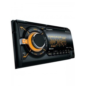 Sony WX-GT90BT Double Din Head Unit with Bluetooth