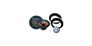 VW EOS Juice JS63 Speaker Upgrade Package