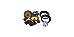 VW Golf MK4 In Phase SXT6.1C Speaker Upgrade Package