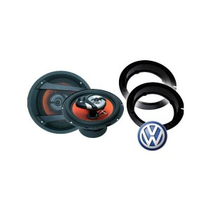 VW Scirocco Juice JS63 Speaker Upgrade Package