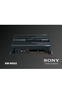 Sony XM-N502 - 500w 2 channel Power Amplifier