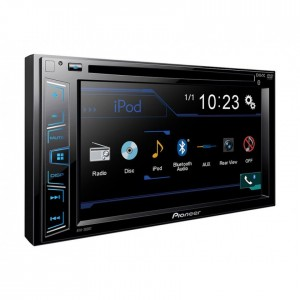 "Pioneer AVH-280BT CD DVD USB AUX With Bluetooth 6.2"" Touchscreen"