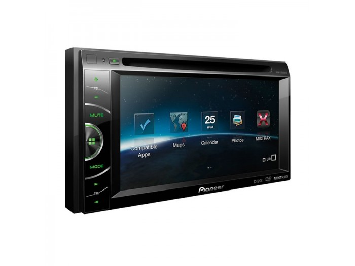 "Pioneer AVH-X1500DVD 6.1"" Touchscreen In Car DVD System Advanced App Mode"
