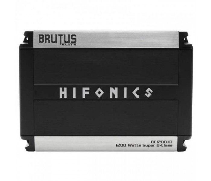 Hifonics BE1200.1D Brutus Elite Class D Mono Amplifier 1200 Watts