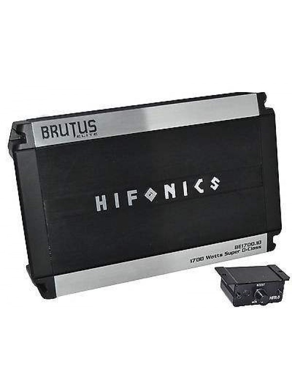 Hifonics Be1700 1d Brutus Elite Class D Mono Amplifier