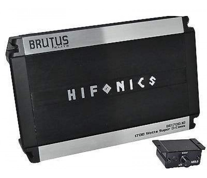 Hifonics BE1700.1D Brutus Elite Class D Mono Amplifier 1700 Watts