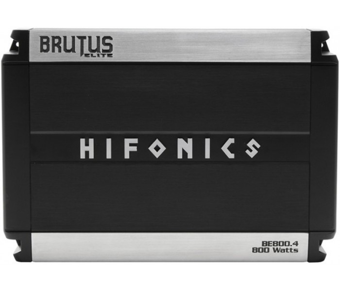Hifonics BE800.4 Brutus Elite Class 4-Channel Amplifier 800 Watts