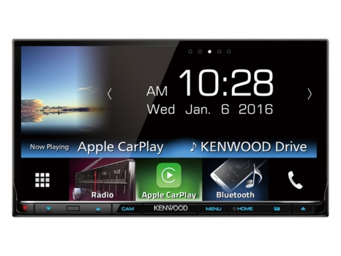 "Kenwood DNX8160DABS - 7.0"" WVGA, Navigation System with built-in Bluetooth, DAB+ Tuner & CarPlay Android Auto"