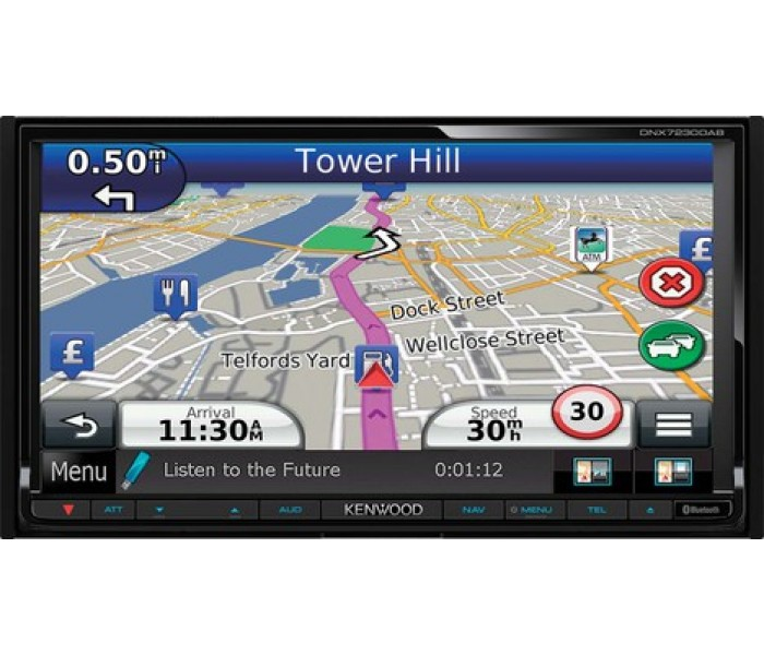 Kenwood DNX7230DAB Navigation System with Bluetooth & DAB
