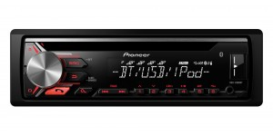 Pioneer DEH-3900BT Car Stereo with RDS tuner, Bluetooth, USB and Aux-In. Supports iPod/iPhone Direct Control, Android.